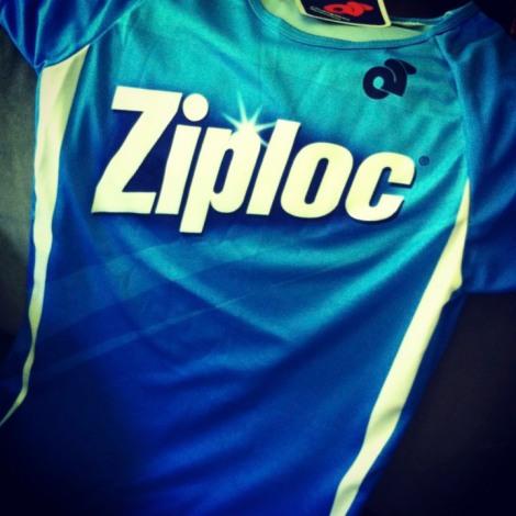 Ziploc-branded jersey